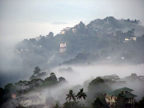 Kandy in the early morning