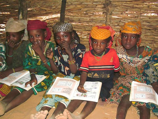 Schoolroom in Niger