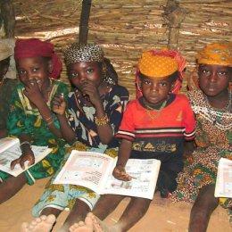 Schoolroom in Niger