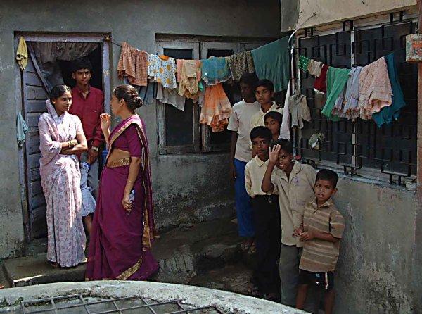 Shanty hut in Mumbai