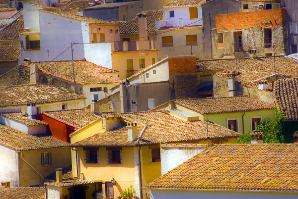 Spanish mountain village