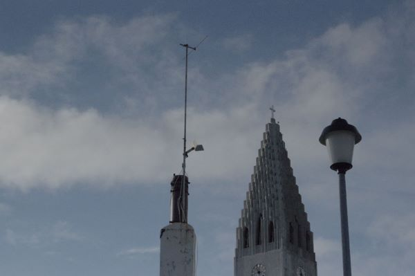 Tall things in Reykjavic