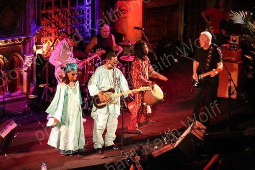 Amadou & Mariam with David Gilmour