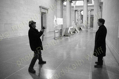 Brian Haw photographs Mark Wallinger