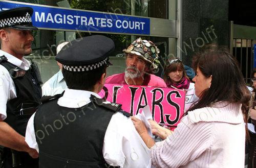 Brian Haw & Police