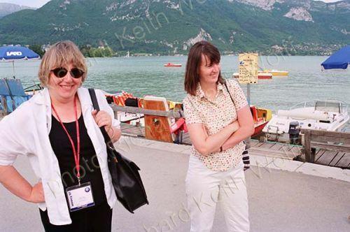 Catrin Unwin & Loraine Marshall