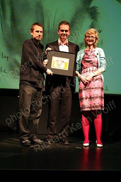 Jeremy Hardy, Chris Shephered & Maria Manton