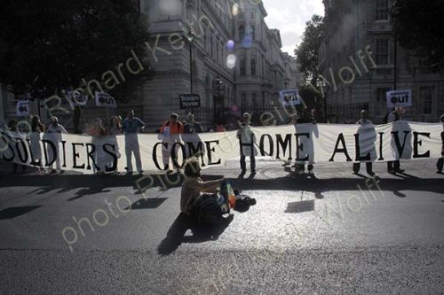 Democracy Villagers go to Downing Street