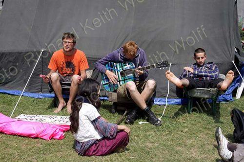 Democracy Village music