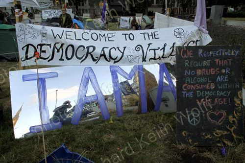 Welcome to Democracy Village