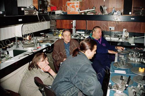 Dick Arnall, David Curtis, Phil Burgess & Tony Fish