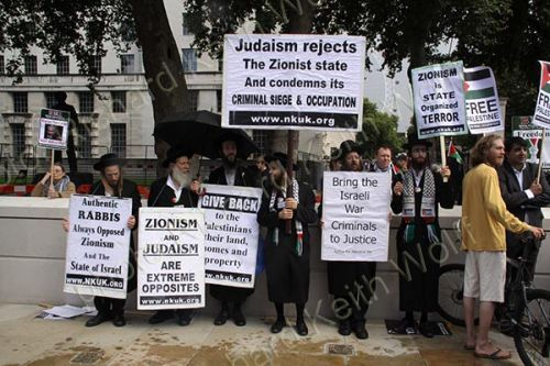 Judaism rejects Zionist state