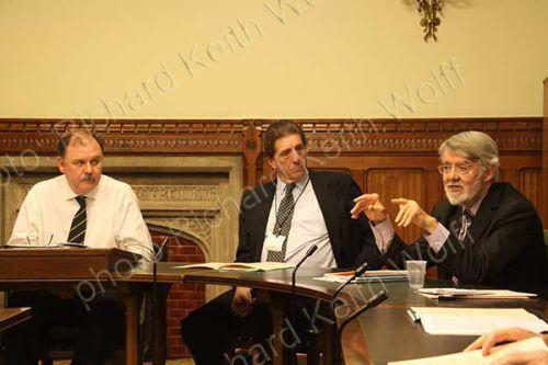 Paul Flynn MP, Chris Coverdale & Elfyn Llwyd MP