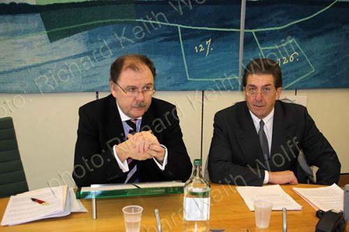 Elfyn Llwyd MP & Chris Coverdale