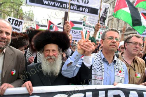 Hochhauser, Mustafa Barghouti & Richard Burden