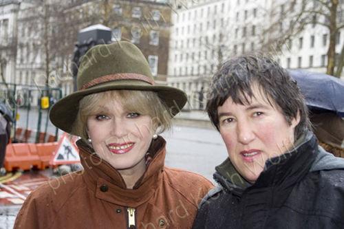 Joanna Lumley & Maria Gallastegui