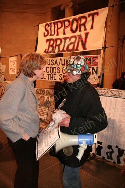 Judith Nesbitt & Brian Haw
