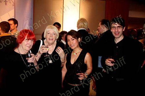 Margot Grimwood, Pat Rain Webb, Suk & Mark Baker