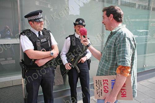 Mark Thomas & Police