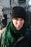 Maria Gallastegui on hunger strike