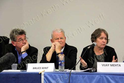 Michael Griffin, Bruce Kent & Lindsey German