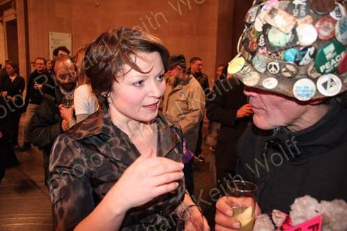 Michelle Sadgrove & Brian Haw