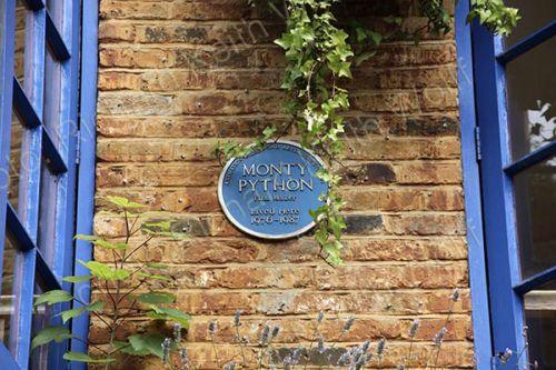 Monty Python blue plaque