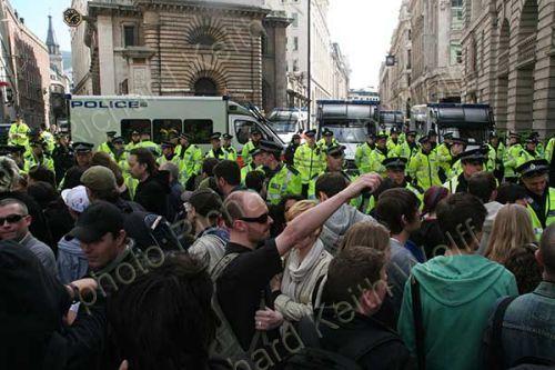 Police blockade