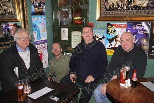 Roy Naisbitt, Fraser MacLean, Chris Knott & Simon Swales