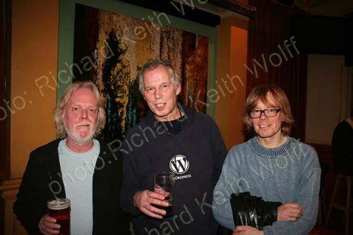 Richard Nye, Michael Hirsh & Martin Davy
