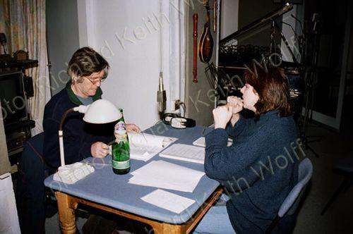 Joanna Quinn & Tom Courtenay