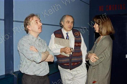 Ted Rockley, Oscar Grillo & Jayne Pilling