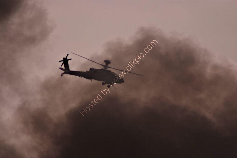 Apache under fire