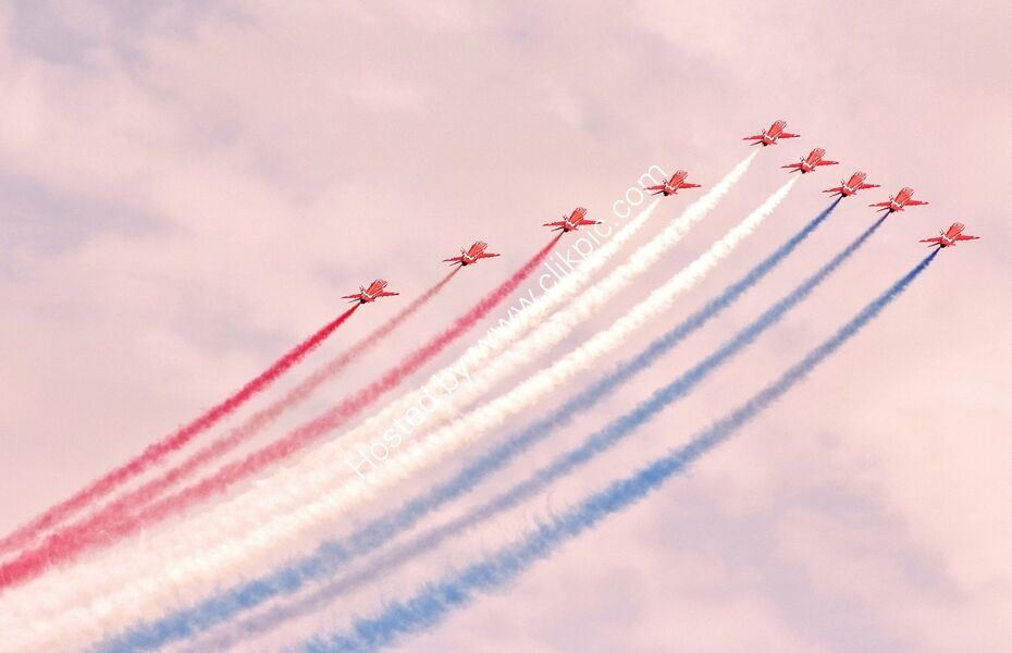 Red Arrows, RAF Cosford