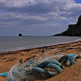 Saltwick Bay - looking towards 'Black Nab'