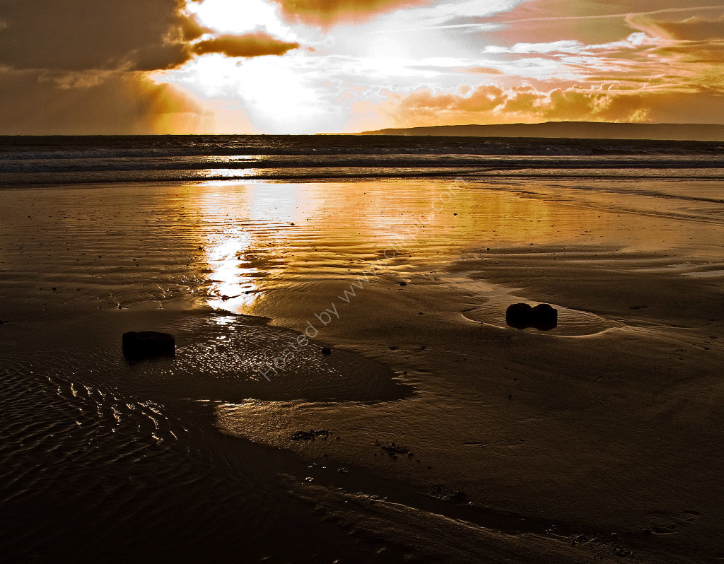 Filey Seafront, Sunrise