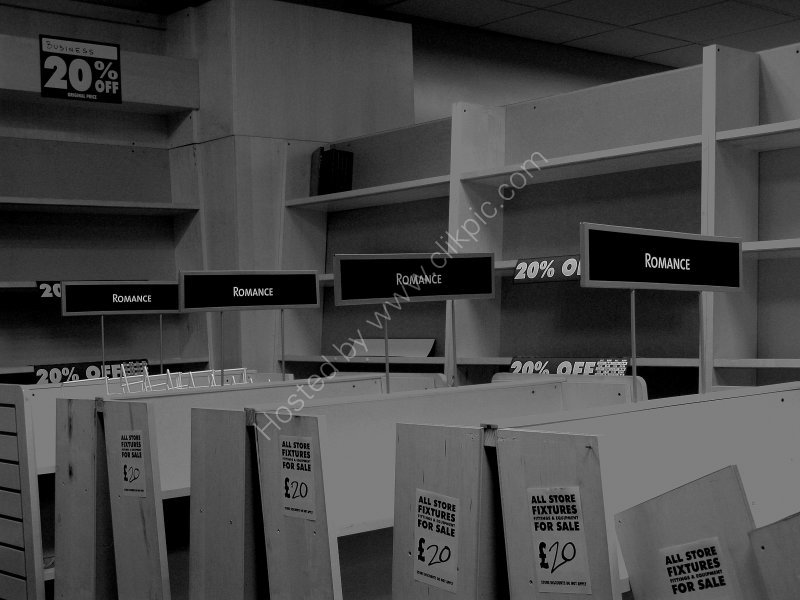 Closure of Borders Books, Music & Video - Leeds