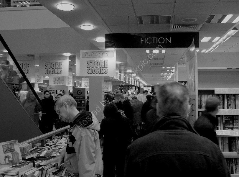 Closure of Borders Books, Music & Video - Leeds