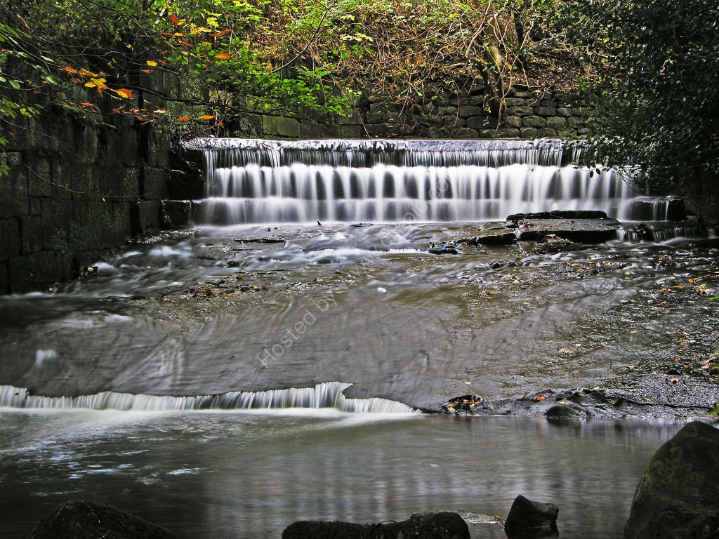 Weir at Troy Mill Beck