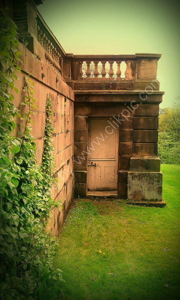 Sinister Doorway at Harewood!