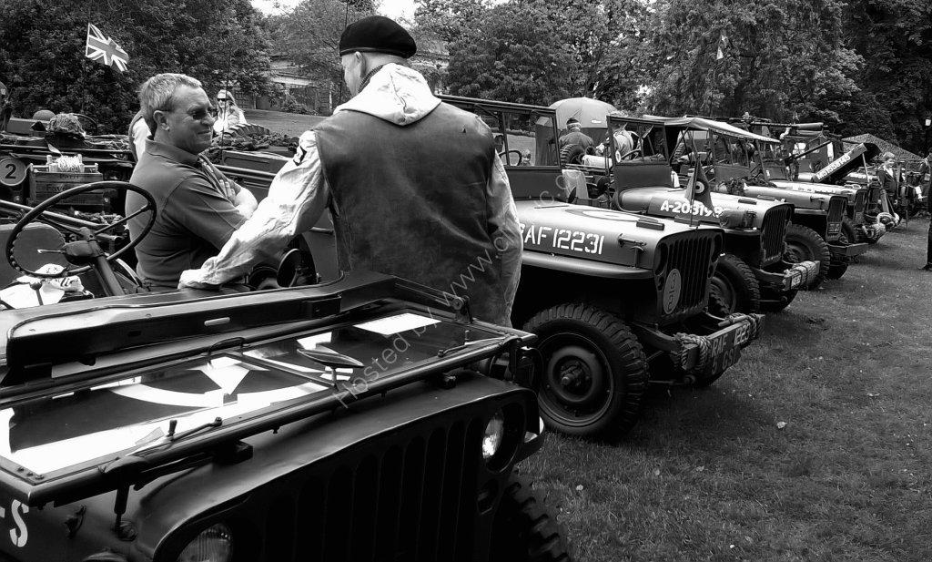1940's Day, Valley Gardens 2016, Harrogate