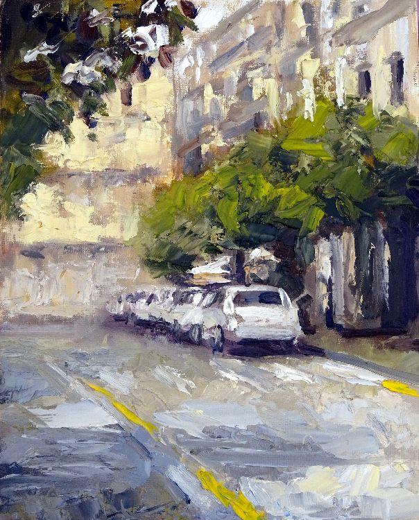 Taxis en Calle Alemanes