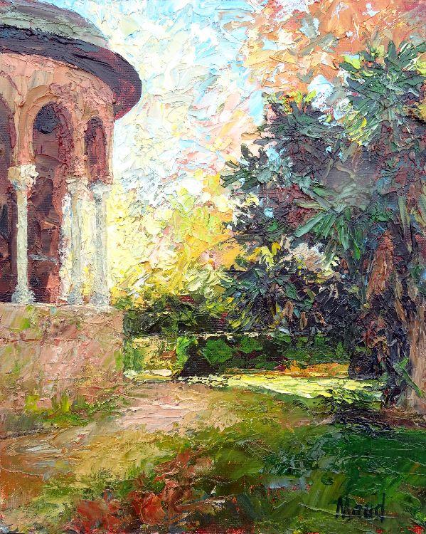 Una esquina del Palacio Mudéjar