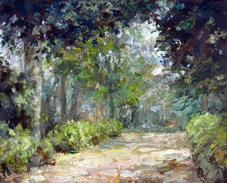 October Morning in Maria Luisa Park