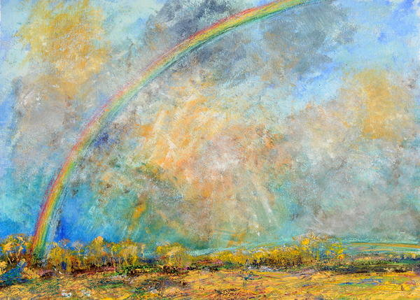 Rainbow over Petworth Park