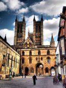 Lincoln Cathedral and Exchequergate