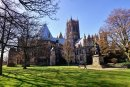 Lincoln Cathedral from Minster Green