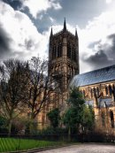 Lincoln Cathedral from Minster Yard