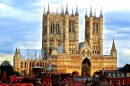 Lincoln Cathedral from the Castle II