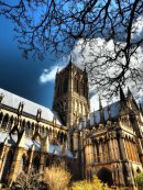 Lincoln Cathedral from the Garden